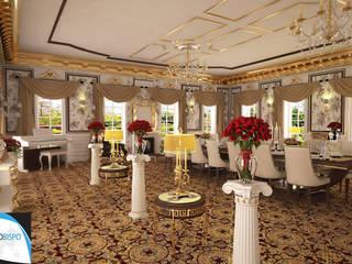 PORTIFÓLIO: Salas de jantar clássicas por Gustavo Bispo designer Unipessoal LDA