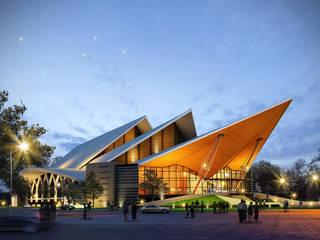 อาคารหอประชุม:   by PM DESIGN co.,ltd