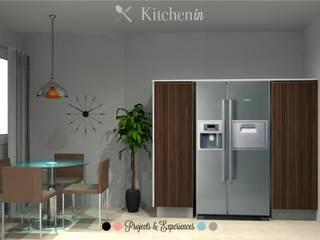Projeto CS - S.Félix da Marinha: Cozinhas  por Kitchen In,Moderno