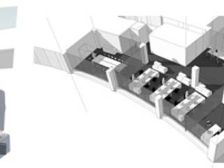 Estudios y bibliotecas de estilo minimalista de Arq2T. Atelier Minimalista