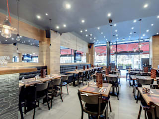 BRUSSELS GRILL RESTAURANT: industrial  by Viadurini.co.uk, Industrial