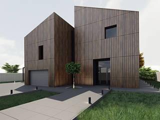 Проект загородного дома:  в . Автор – SNOU project