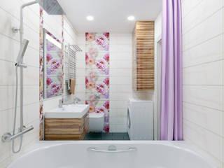 ミニマルスタイルの お風呂・バスルーム の PLYSPACE ミニマル