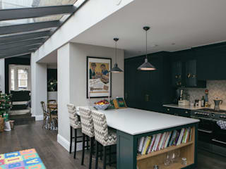 Private Residence, Acton Eclectic style kitchen by Mark Taylor Design Ltd Eclectic