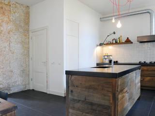 Eiken keuken Dordrecht:  Keuken door RestyleXL