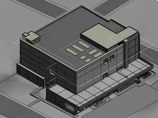 Edifício de Laboratórios - Marinjá - Brasil:   por ISOSTÁTICO - PROJETOS DE ENGENHARIA