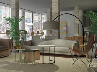 Interieurontwerp The Workstation Arnhem :   door Laura's Advies