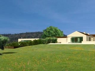 Villa Algarve Loule Portugal 37°10'N 7°59′W Moderne huizen van J2Creators Modern
