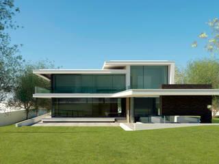 BOS VILLA Rhenen 51°58'N 5°34'O Moderne huizen van J2Creators Modern