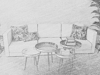 ROSA PURA HOME STORE Вітальня Мідь / Бронза / Латунь Білий