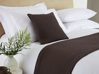 Bedspreads, Throws and Duvets by King of Cotton King of Cotton BedroomTextiles Cotton Brown