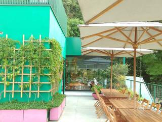 RESTAURANTE AZE FOODS | Faculdade de Medicina USP: Espaços gastronômicos  por Lá Fora | arquitetura da paisagem