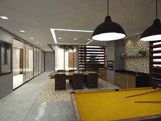 Ruang Keluarga Modern Oleh cioli arquitetura e design Modern