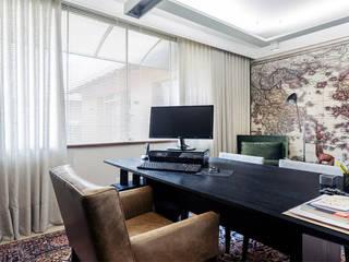 Ruang Studi/Kantor Modern Oleh cioli arquitetura e design Modern