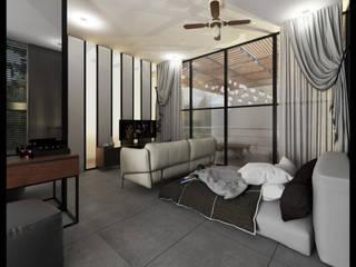 Phòng ngủ phong cách hiện đại bởi TALLER819 A & C Hiện đại