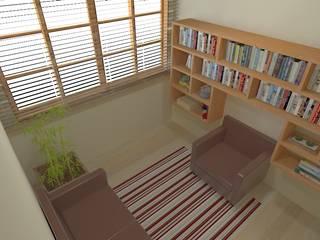 Consultório de Psicologia - Barro Preto - BH - MG Clínicas modernas por W.Costa Arquitetura, Urbanismo & Sustentabilidade Moderno