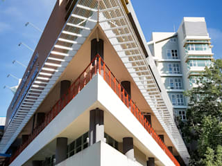 อาคารเฉลิมพระเกียรติ 84 พรรษา:   by PM DESIGN co.,ltd