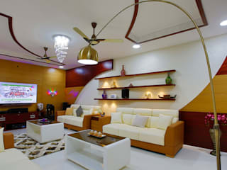 Elegance at Its Best!:  Living room by Premdas Krishna