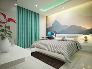 Eye Catching... Classic style bedroom by Premdas Krishna Classic