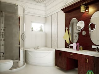 Asian style bathroom by Premdas Krishna Asian