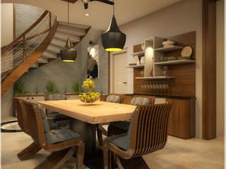 Foliage Beauty... Modern dining room by Premdas Krishna Modern