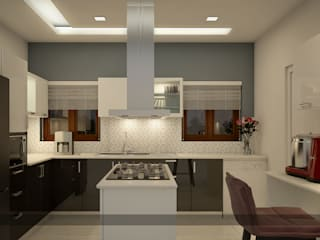 Modern kitchen by Premdas Krishna Modern
