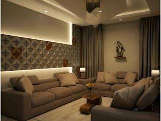 Foliage Beauty... Modern living room by Premdas Krishna Modern