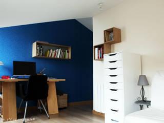 Sur-élévation maison BC Bureau moderne par yg-architecte Moderne