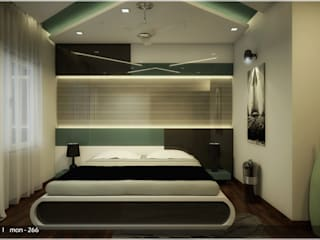 Incredible Amount of Details Classic style bedroom by Premdas Krishna Classic