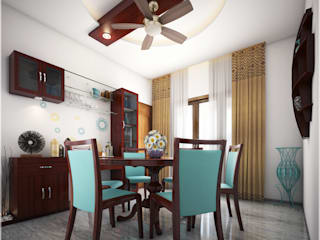 Dining room by Premdas Krishna , Modern