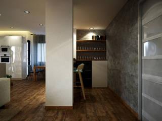 Diseño y reforma piso en Barcelona Centro: Comedores de estilo  de Toolboxstudio