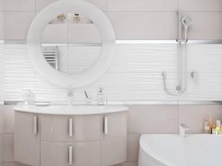 Санузел может быть разным!: Ванные комнаты в . Автор – stiledesign