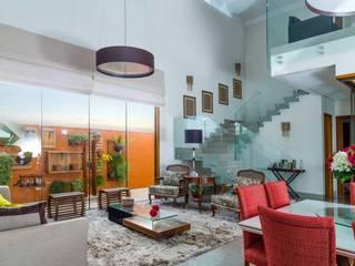 Living: Salas de estar  por mariaeunicearquitetura