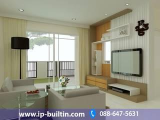 ตกแต่งภายใน  บ้าน มัณฑณา ห้องรับแขก:   by IP BUILT IN