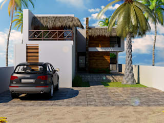 Modern houses by TIZA Modern
