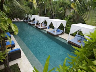 Seminyak Villas Resort Main Pool Tropical style hotels by The Elysian Tropical