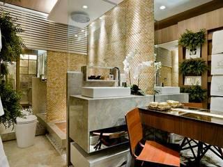 Casa Cor Goiás 2013 Carolina Fontes Arquitetura Banheiros modernos