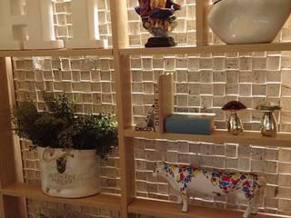 Casa Cor Goiás 2013 Carolina Fontes Arquitetura Corredores, halls e escadas modernos
