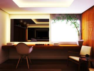 Gilberto Cardoso interiores Spa Modern