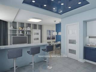Ruang Keluarga oleh Архитектурное Бюро 'Капитель', Skandinavia