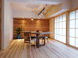 Asian style dining room by 古今 Design & Crafts Asian