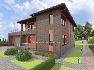 Houses by Архитектурное Бюро 'Капитель', Eclectic