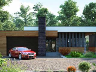 Sboev3_Architect Minimalist houses Bricks