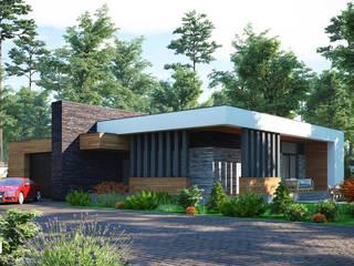 Sboev3_Architect Minimalist houses Wood