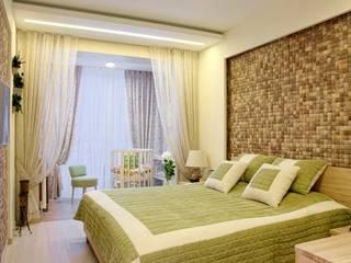 Квартира на Янгеля:  в . Автор – Студия текстильного дизайна 'Времена года'