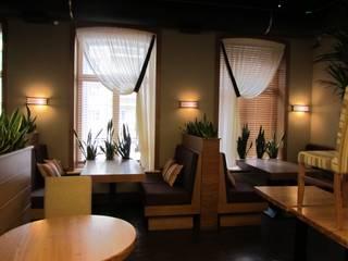 Ресторан на Павелецкой Студия текстильного дизайна 'Времена года' Столовая комнатаАксессуары и декор Текстиль Бежевый