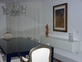 Projeto Patamares: Salas de jantar modernas por Mericia Caldas Arquitetura