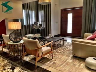 Sala Conforto : Salas de estar  por SEGAN - Arquitetura e Interioes