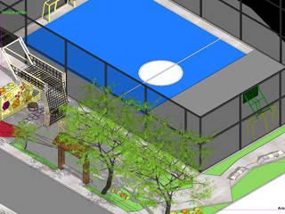 U.D.I Veracruz: Terrazas de estilo  por Taller de Desarrollo Urbano