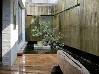 Jardin original par Zendo 深度空間設計 Éclectique